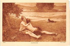 nud008368 - R. Collin Nude Postcard