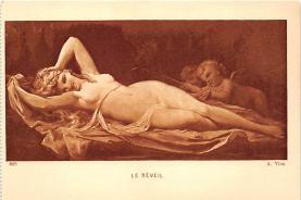 nud008379 - A Vion Nude Postcard