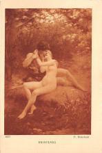 nud008389 - P Blanchard Nude Postcard
