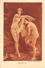 nud008393 - Mme Ad Salles Wagner Nude Postcard