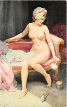 nud008404 - Paul Heckscher, Stockholm Nude Postcard
