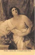 nud008409 - Galleria Pitti, La Cleopatra Nude Postcard