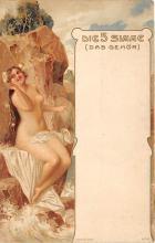 nud008415 - Nude Postcard