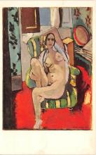 nud008416 - Henri Matisse, Odalisque with a Tambourine Nude Postcard