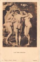 nud008417 - Rubens Nude Postcard