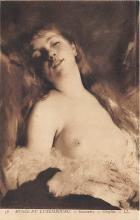 nud008420 - Souvenirs Chaplin Nude Postcard