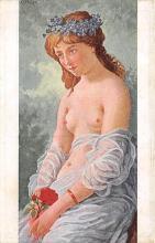 nud008443 - Erste Liebe Nude Postcard