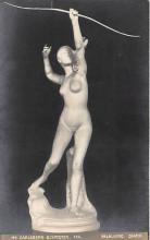 nud008452 - Falguiere Diana Nude Postcard