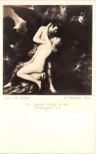 nud008455 - Cpid and Psyche, by Benjamin West Nude Postcard