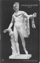 nud008479 - Apollon De Belvedere Rome Nude Postcard
