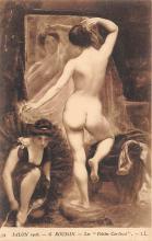 nud008487 - Les Petites Cardinal Nude Postcard