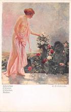 nud008506 - AD Goltz Pinx Nude Postcard