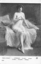 nud008512 - Study Nude Postcard