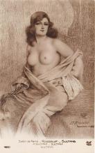nud008516 - Sultanin Nude Postcard