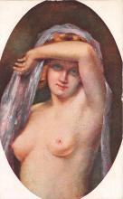 nud008548 - Study Nude Postcard
