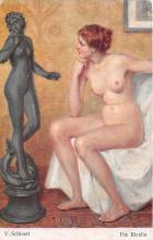 nud008550 - Die Rivalin Nude Postcard