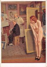 nud008562 - Haus der Deutschen Kunst Nude Postcard
