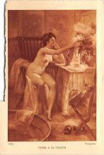 Femme A Sa Toilette