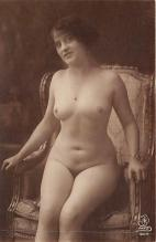 nud010002 - French Nude Postcard