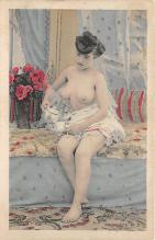 nud010010 - French Nude Postcard