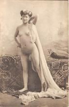 nud010027 - French Nude Postcard