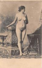 nud010031 - French Nude Postcard