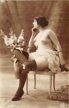 nud010068 - French Nude Postcard