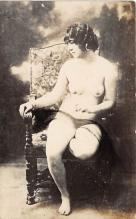 nud010070 - French Nude Postcard