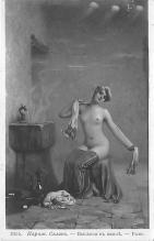 nud011018 - Bath House Russian Nude Postcard