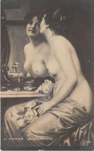 nud011025 - Admiration Russian Nude Postcard