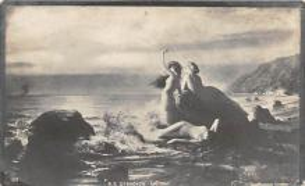 nud011026 - Russian Nude Postcard