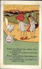 nur001007 - Pussy Cat postcard postcards