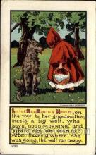 nur001011 - Little Red Ridding Hood postcard postcards