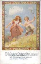 nur001020 - Jack & Jill postcard postcards