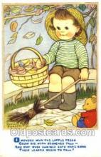 nur001053 - Children Nursery Postcard Postcards