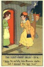 nur001098 - Artist Petal, Nursery Rhyme, Postcard Postcards