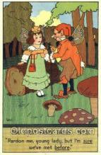 nur001099 - Artist Petal, Nursery Rhyme, Postcard Postcards