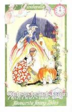 nur001101 - Cinderella, Nursery Rhyme, Postcard Postcards