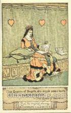nur001128 - The Queen of Hearts Artist Randolph Caldecott, Nursery Rhyme, Postcard Postcards