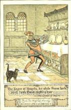 nur001136 - The Queen of Hearts Artist Randolph Caldecott, Nursery Rhyme, Postcard Postcards