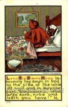 nur001137 - Little Red Riding Hood Nursery Rhyme, Postcard Postcards