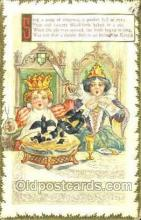 nur001139 - Sing a song for Sixpence Nursery Rhyme, Postcard Postcards