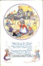 nur001141 - Pk 148 Artist Molly Brett,  The Medici Society Ltd. London, Nursery Rhyme, Postcard Postcards