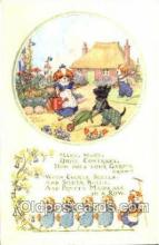 nur001142 - Pk 159 Artist Molly Brett,  The Medici Society Ltd. London, Nursery Rhyme, Postcard Postcards