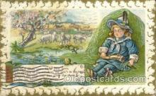 nur001143 - Little Boy Blue Nursery Rhyme Postcard Post Card Old Vintage Antique
