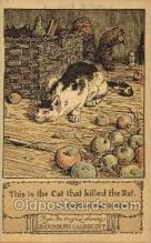 nur001154 - Artist Randolph Caldecott Nursery Rhyme Postcard Post Card Old Vintage Antique