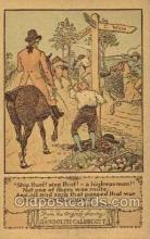 nur001163 - Artist Randolph Caldecott Nursery Rhyme Postcard Post Card Old Vintage Antique