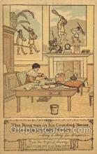 nur001165 - Artist Randolph Caldecott Nursery Rhyme Postcard Post Card Old Vintage Antique
