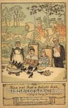 nur001167 - Artist Randolph Caldecott Nursery Rhyme Postcard Post Card Old Vintage Antique