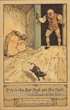 nur001174 - Artist Randolph Caldecott Nursery Rhyme Postcard Post Card Old Vintage Antique